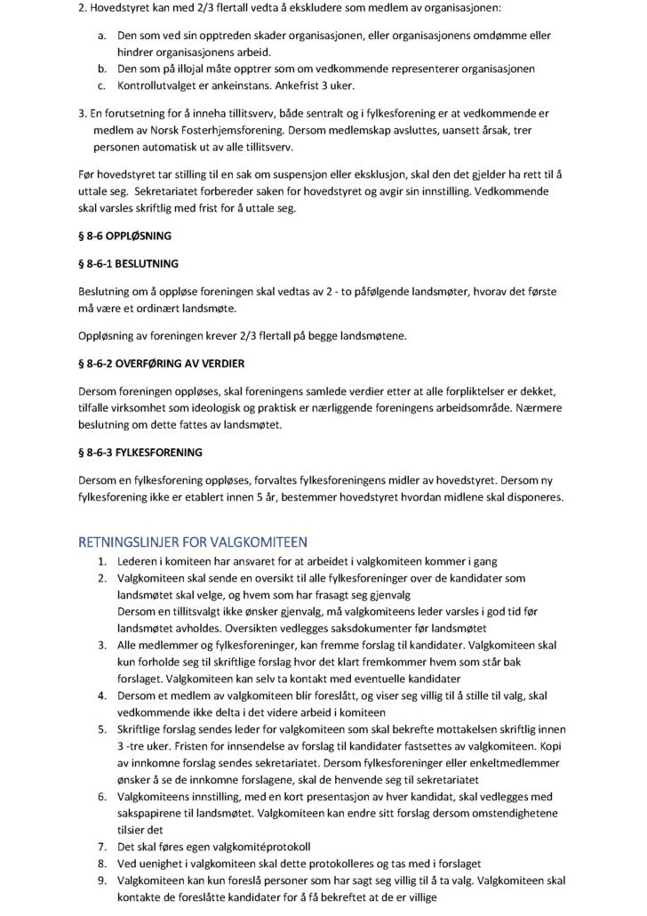 fosterforeldrenes arbeidsrettslige stilling
